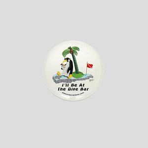 Penguin Dive Bar Mini Button