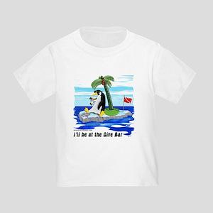 Penguin Dive Bar Toddler T-Shirt