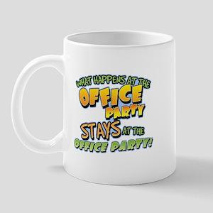 Happens at Office Party Mug