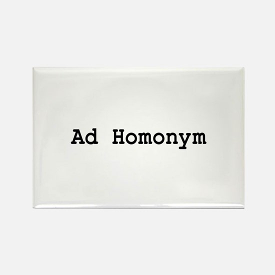 Ad Homonym Rectangle Magnet