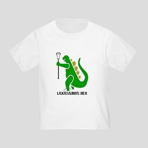 Lacrosse Laxasaurus Rex Toddler T-Shirt