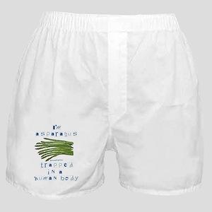 I'm Asparagus Boxer Shorts