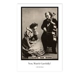 August van Biene - Cellist Postcards
