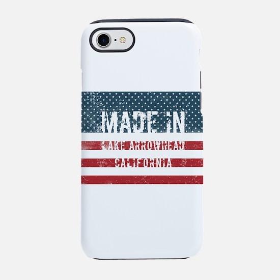Made in Lake Arrowhead, Califo iPhone 7 Tough Case