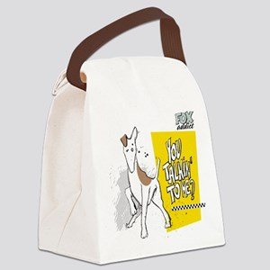 FOX addict YTTM Canvas Lunch Bag