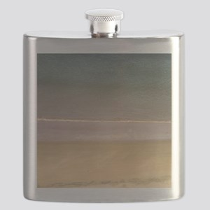 Water's Edge Blue Flask