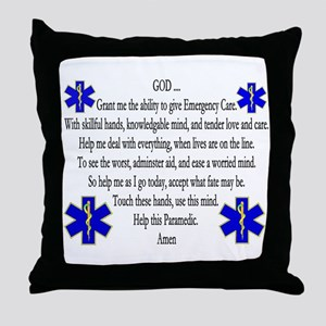 Ems Nap Throw Pillow