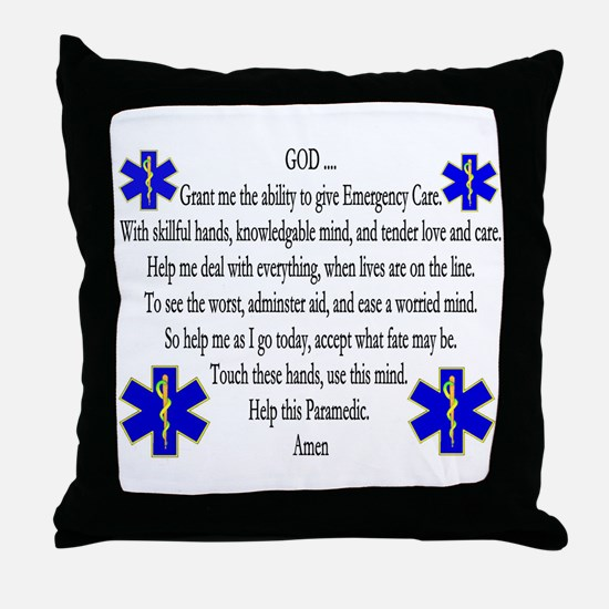 Ems Nap Throw Pillow