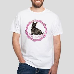Scottie Valentine White T-shirt