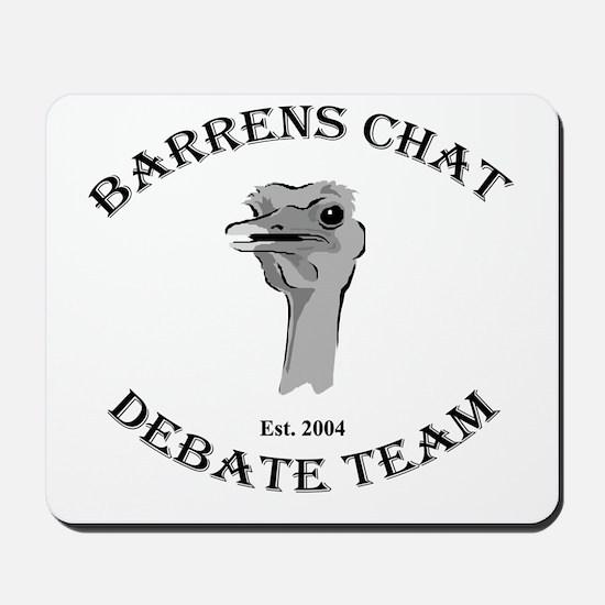 Barrens Chat Debate Team Mousepad