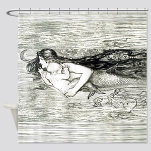 Mermaid by Amelia Bauerle Shower Curtain