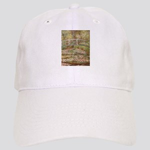 Monet's Japanese Bridge and Water Lily Pon Cap