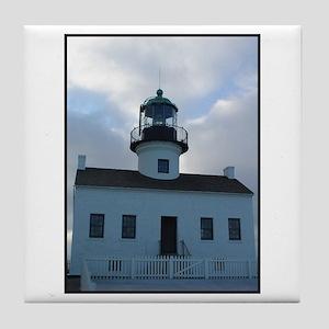 Point Loma Lighthouse Tile Coaster