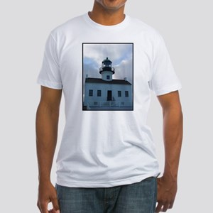 Point Loma Lighthouse Fitted T-Shirt