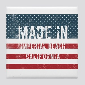 Made in Imperial Beach, California Tile Coaster