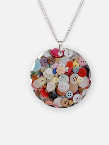 Sew Pretty Billions of Butto Necklace