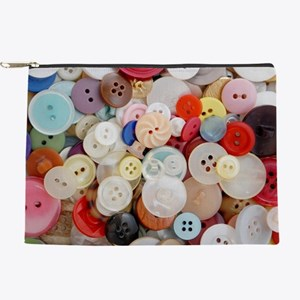 Sew Pretty Billions of Buttons Makeup Pouch