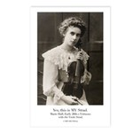 Marie Hall - Violinist - It's MY Strad Postcards