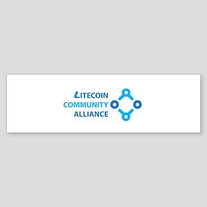 Litecoin Community Alliance Bumper Sticker