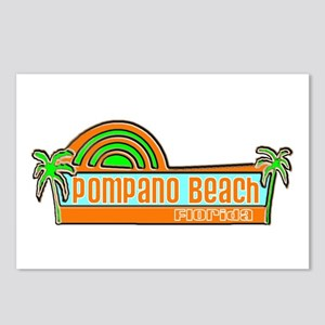 Pompano Beach, Florida Postcards (Package of 8)