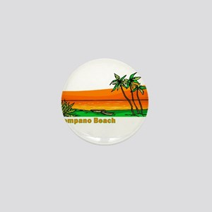 Pompano Beach, Florida Mini Button
