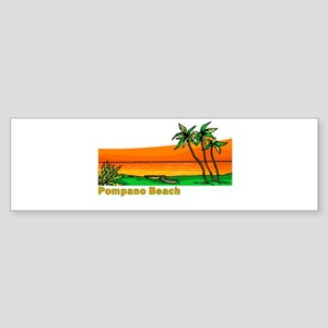 Pompano Beach, Florida Bumper Sticker