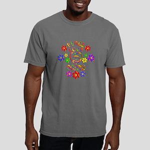Peace Love Goats Mens Comfort Colors Shirt