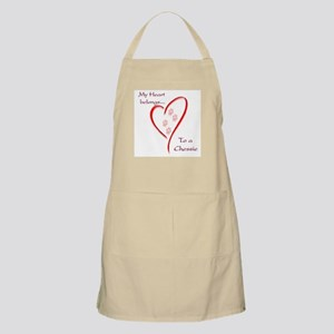Chessie Heart Belongs BBQ Apron