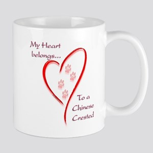 Crested Heart Belongs Mug