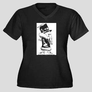 Agatha Christie Plus Size T-Shirt