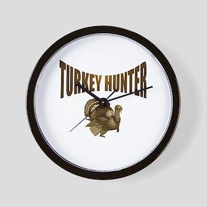 TURKEY HUNTING Wall Clock