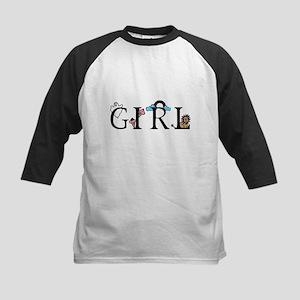 Girl Kids Baseball Jersey
