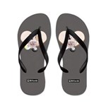 Brown Beach Sandals Flip Flops