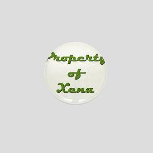 Property Of Xena Female Mini Button