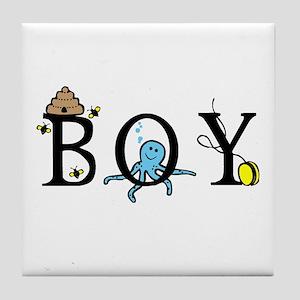 Boy Tile Coaster