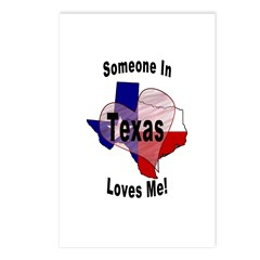 Someone in TEXAS loves me! Postcards (Package of 8