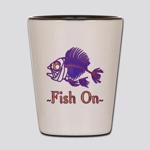 Fish On Forever Shot Glass