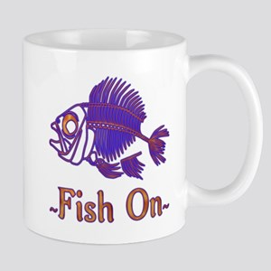 Fish On Forever 11 oz Ceramic Mug