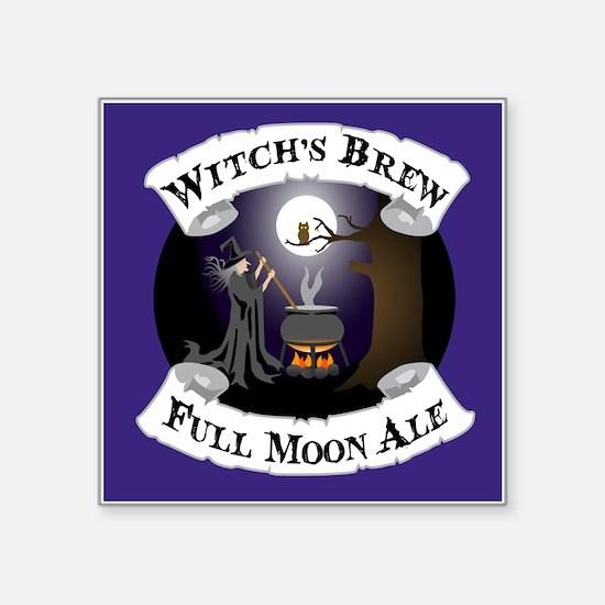 """Witch's Brew Square Sticker 3"""" x 3"""""""