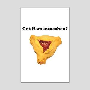 Got Hamentaschen? Mini Poster Print