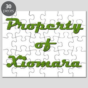 Property Of Xiomara Female Puzzle