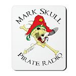 Mark Skull Pirate Radio Mousepad