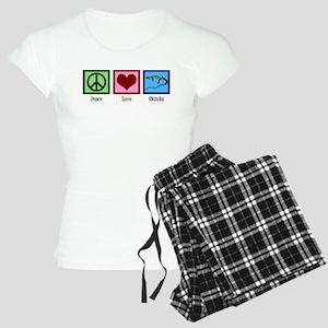 Peace Love Skinks Women's Light Pajamas