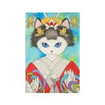 Shinto Bride Rectangle Magnet