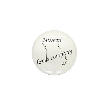 Missouri loves company Mini Button