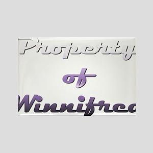 Property Of Winnifred Female Magnets