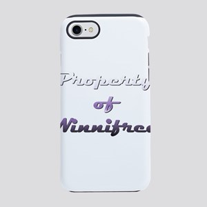 Property Of Winnifred Female iPhone 7 Tough Case