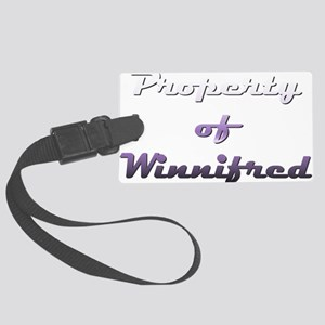 Property Of Winnifred Female Luggage Tag
