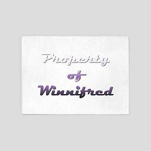 Property Of Winnifred Female 5'x7'Area Rug