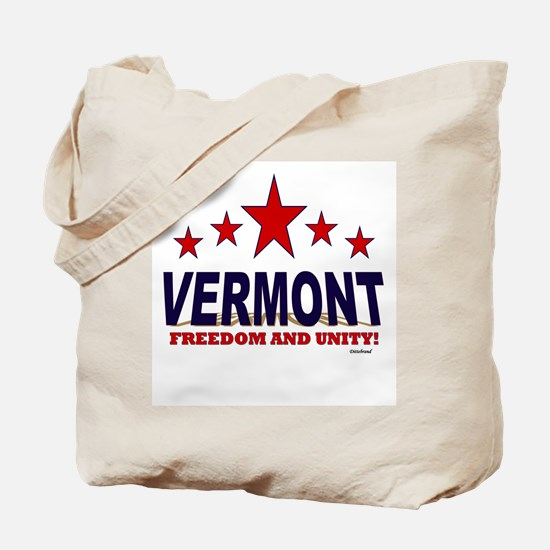 Vermont Freedom And Unity Tote Bag